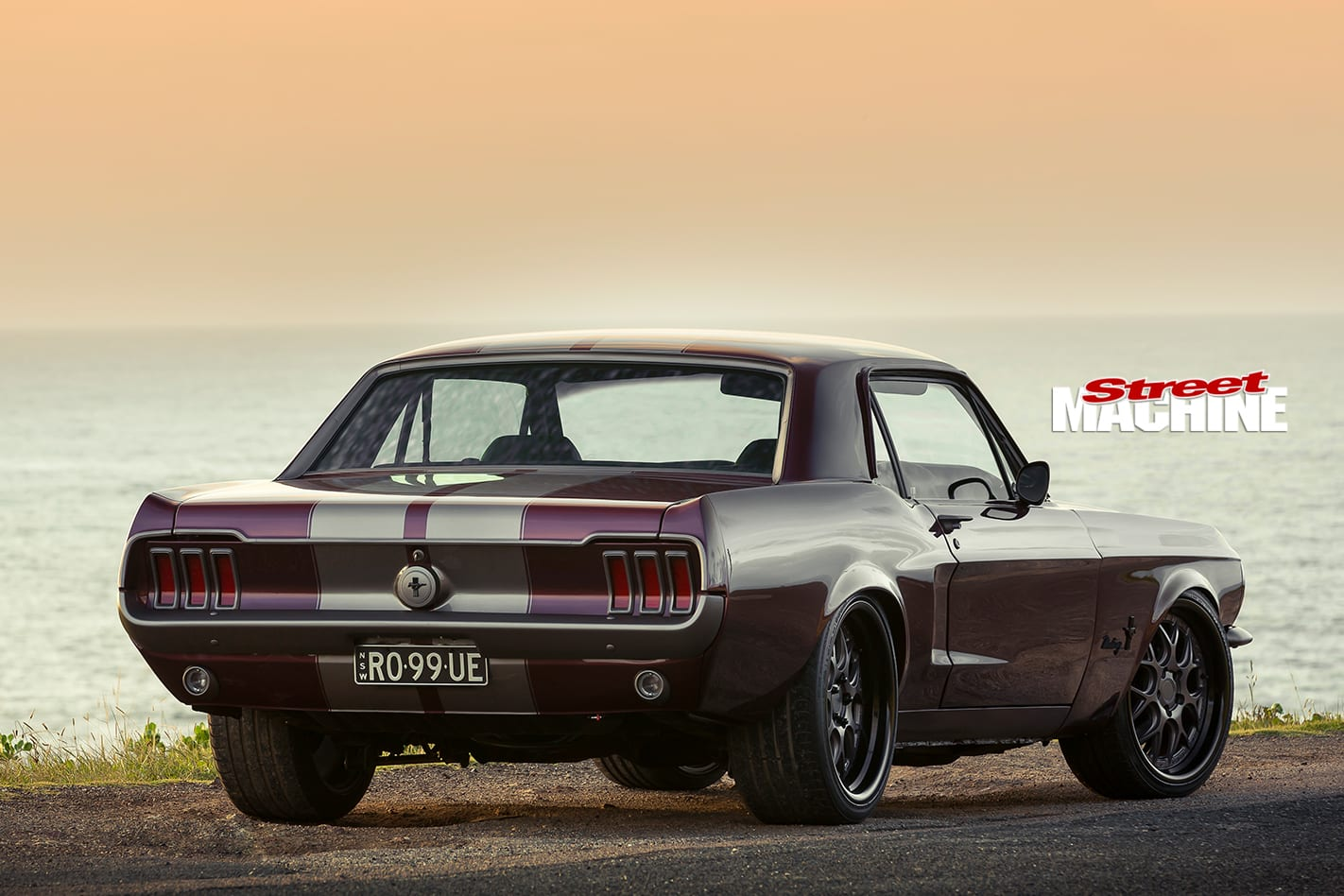 Ford -Mustang -rear