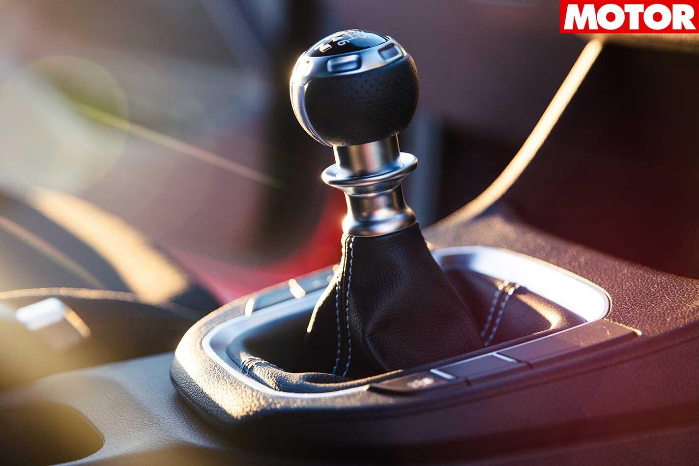 Hyundai i30N Gearshifter