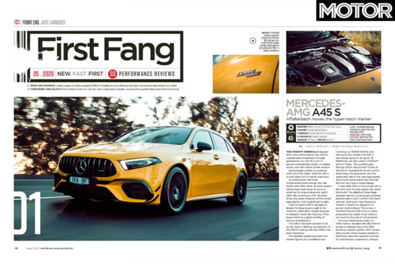 MOTOR Magazine May 2020 Issue First Drive Jpg