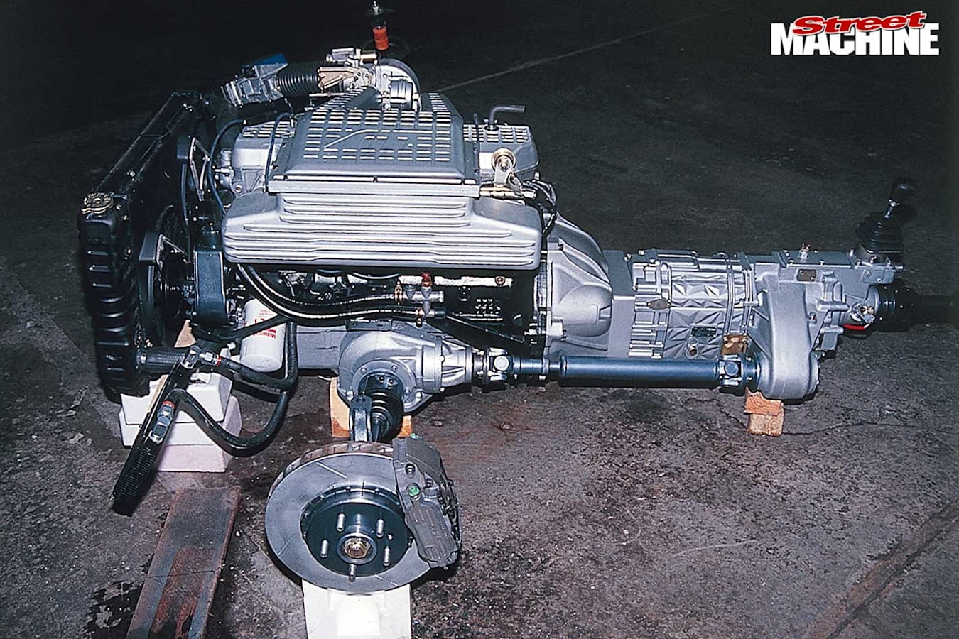 AAT Ford Falcon engine