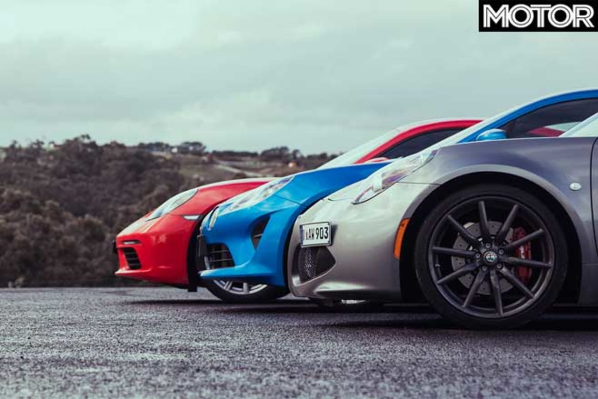 Alpine A 110 Vs Porsche 718 Cayman Vs Alfa Romeo 4 C Spider Comparison Acceleration Jpg