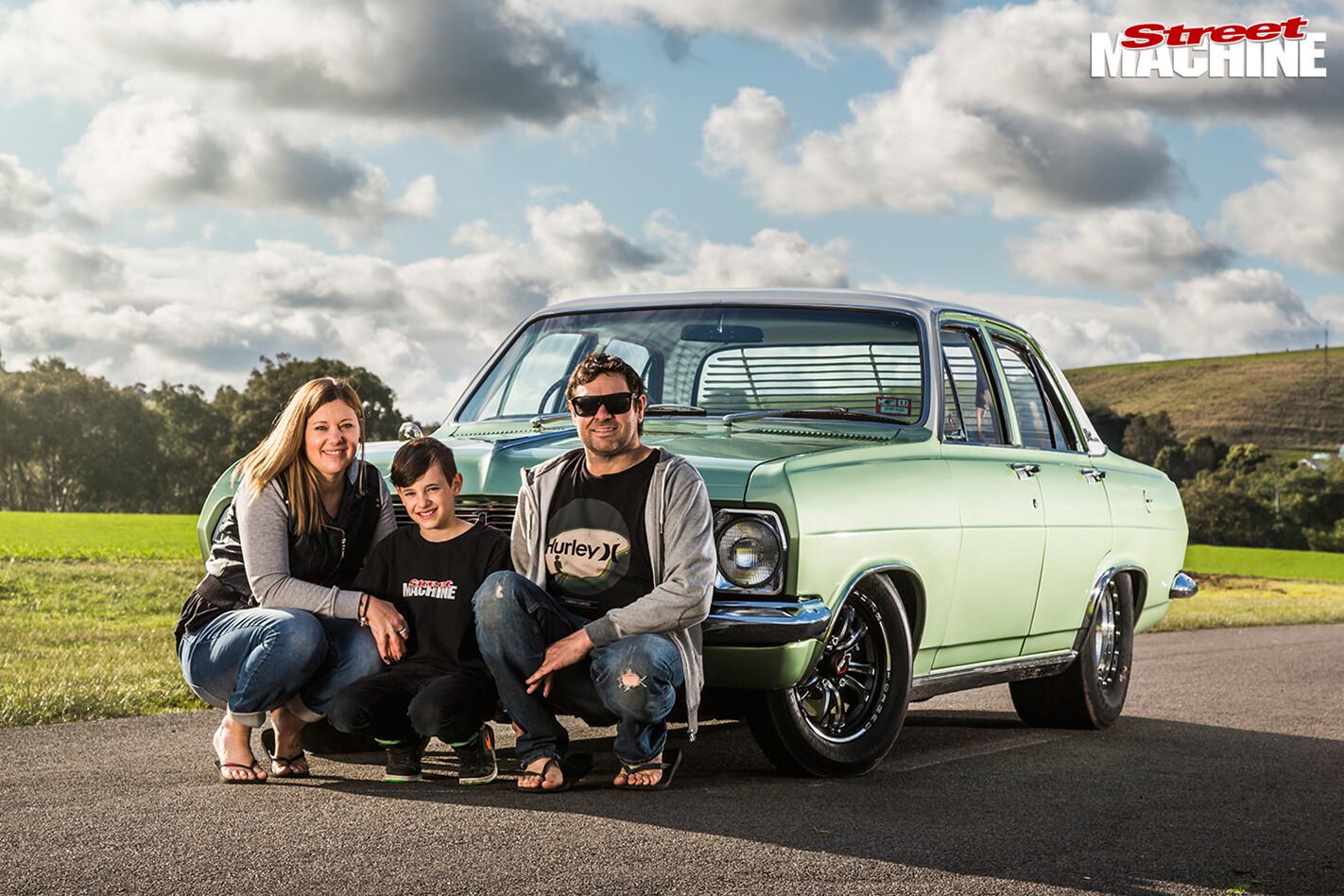 Holden -HR-family