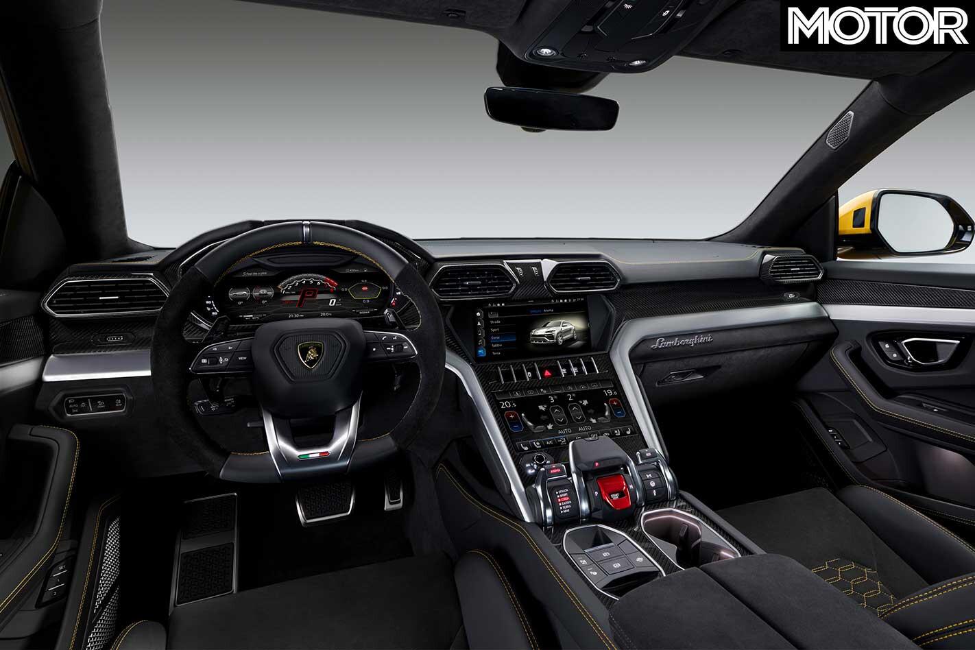 2018 Lamborghini Urus Interior Jpg