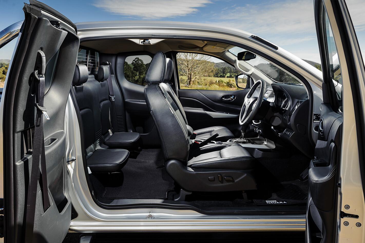 Nissan Navara King Cab Interior Jpg
