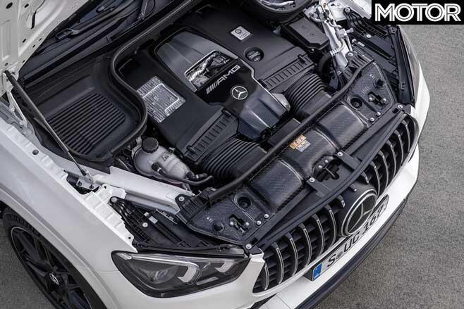 2020 Mercedes AMG GLE 63 S Coupe Engine Jpg