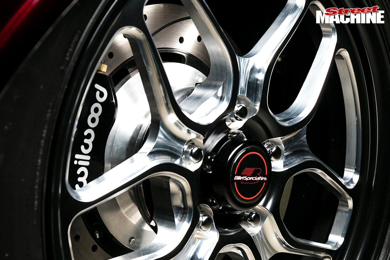Plymouth coupe wheel
