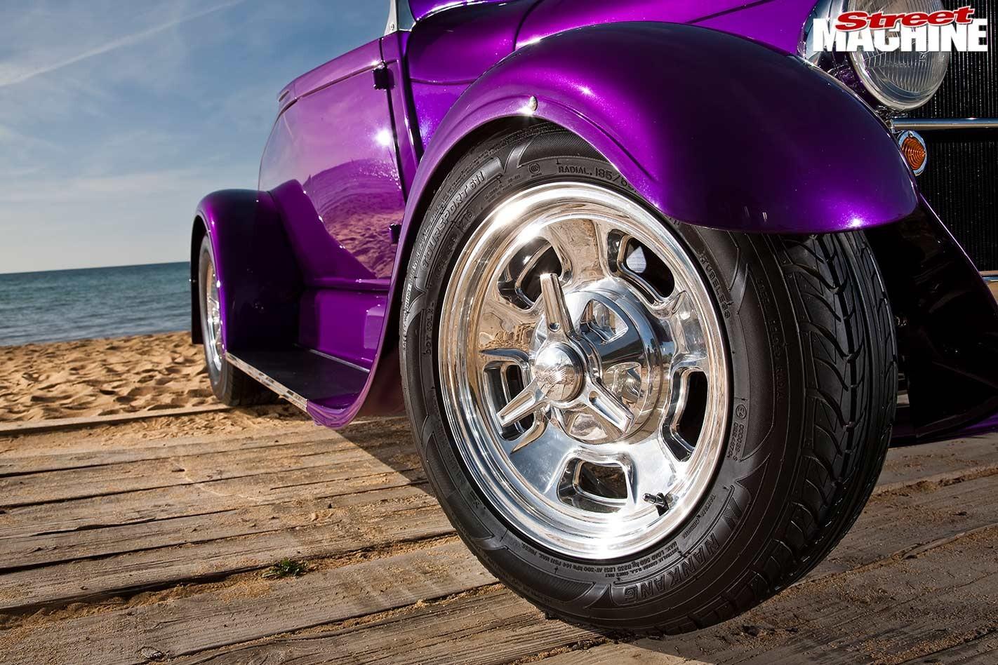 ford model a wheel