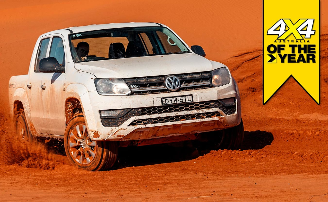 4x4 of the Year 2019 Volkswagen Amarok V6 Core feature