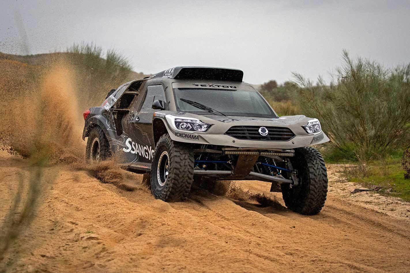SsangYong Rexton DKR to take on Dakar Rally