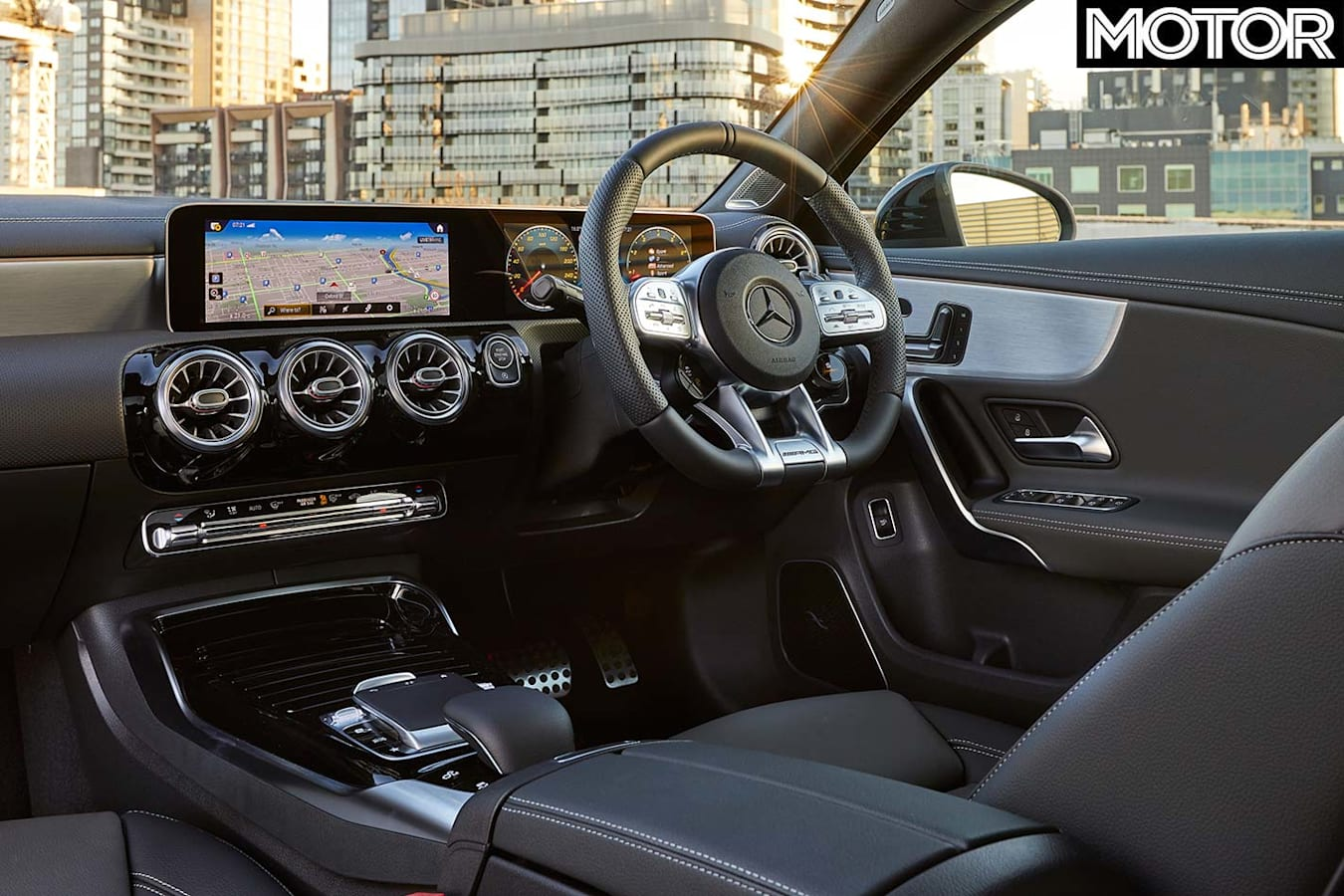 Mercedes-AMG A35 sedan interior