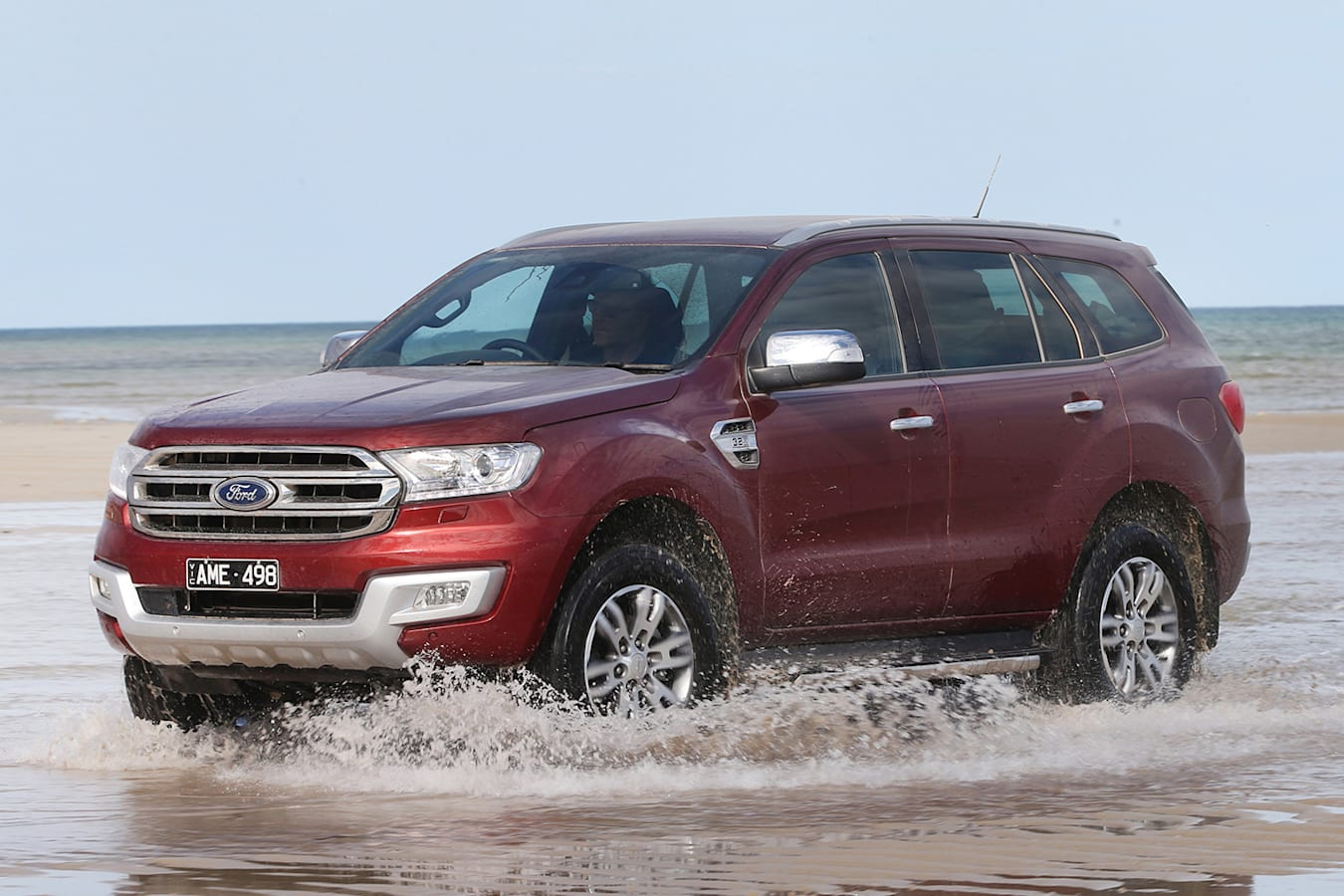 2018 Ford Everest water