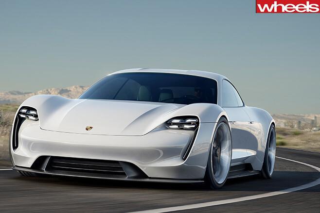 Porsche -Mission -E