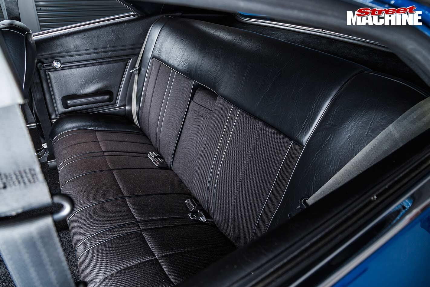 Ford Falcon XB interior rear