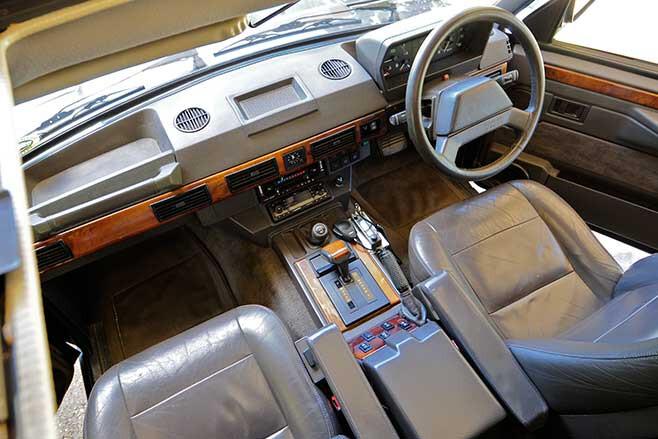 Range Rover Classic interior