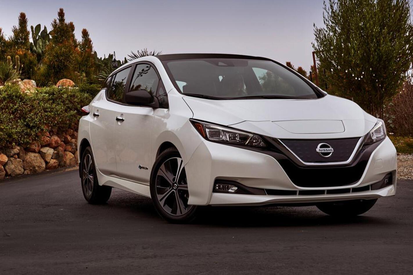 Nissan Leaf Front Qtr Jpg