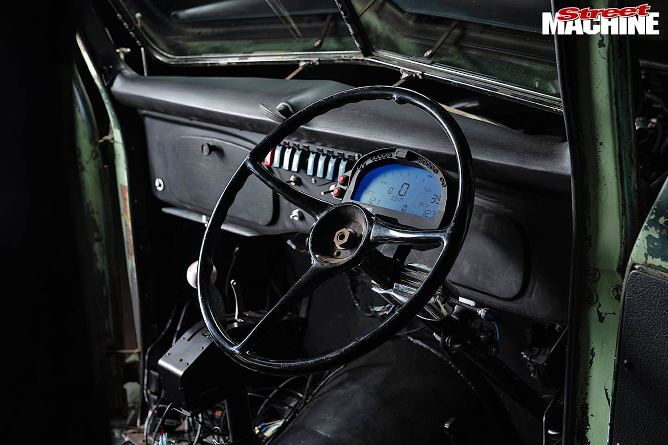 Ford pick-up dash