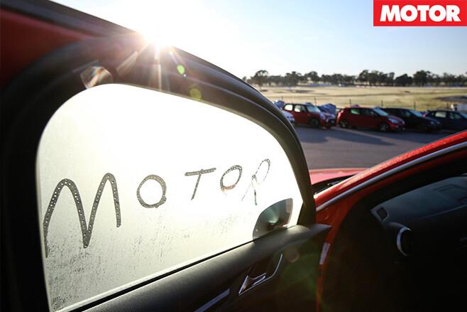 Motor in the window