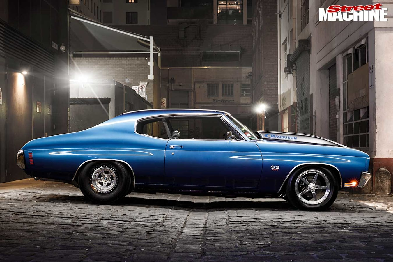 Chevelle SS side