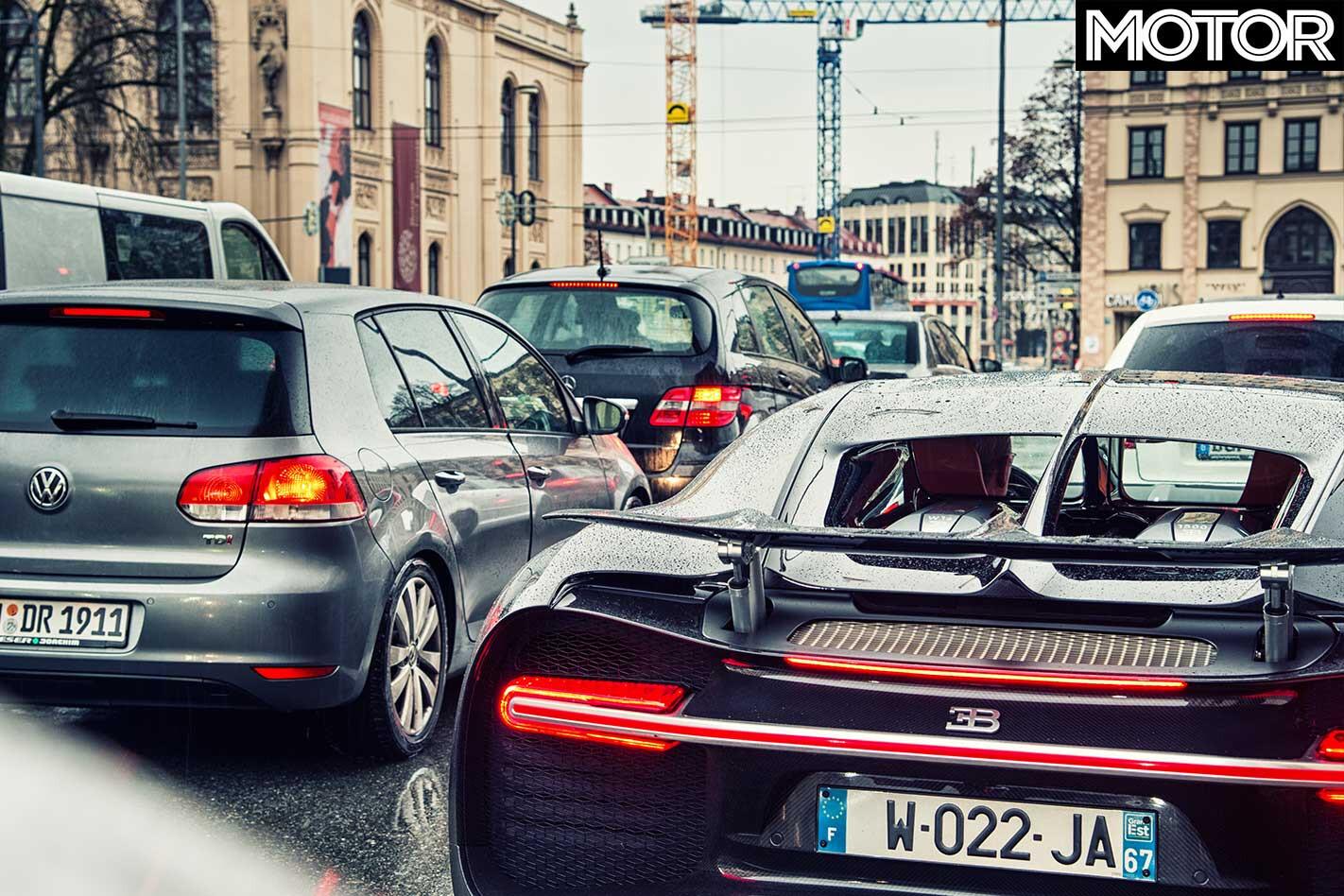24 Hours 2019 Bugatti Chiron Traffic Jpg