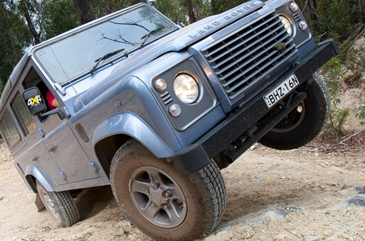 4x4 steep slope tips
