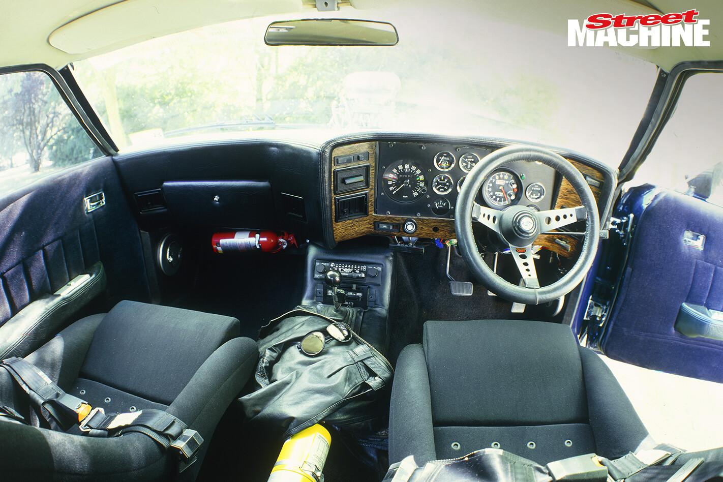 Ford XC Falcon Coupe Interior