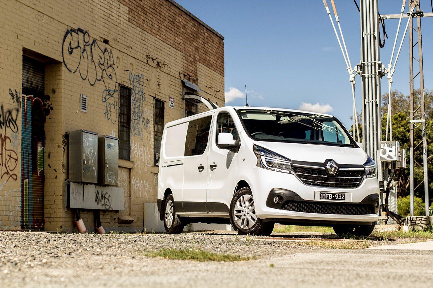 2020 Renault Trafic Crew Lifestyle