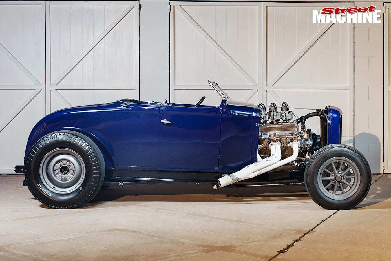 Ford Model A roadster side