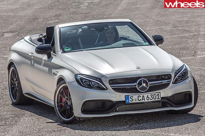 Mercedes -Benz -C-Class -Cabriolet -roof -down