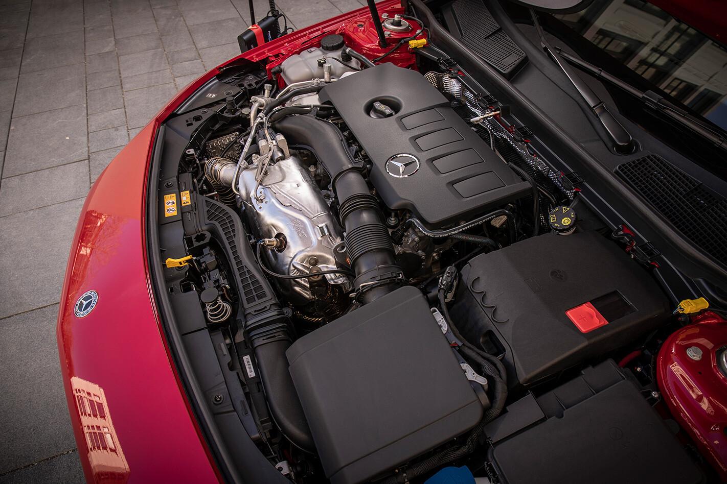 Mercedes Benz Cla Engine Jpg