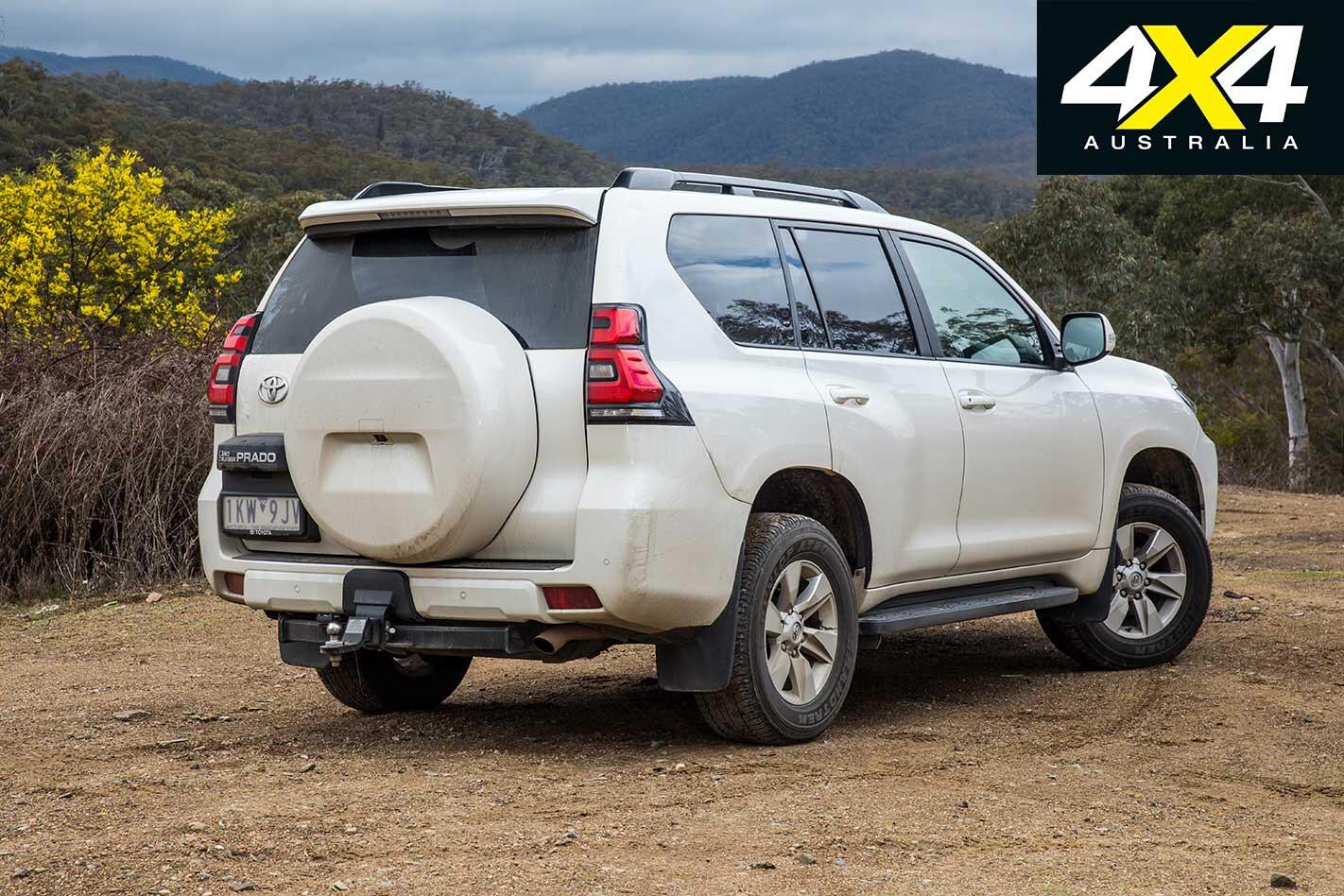 2018 Toyota Prado Rear Static Jpg