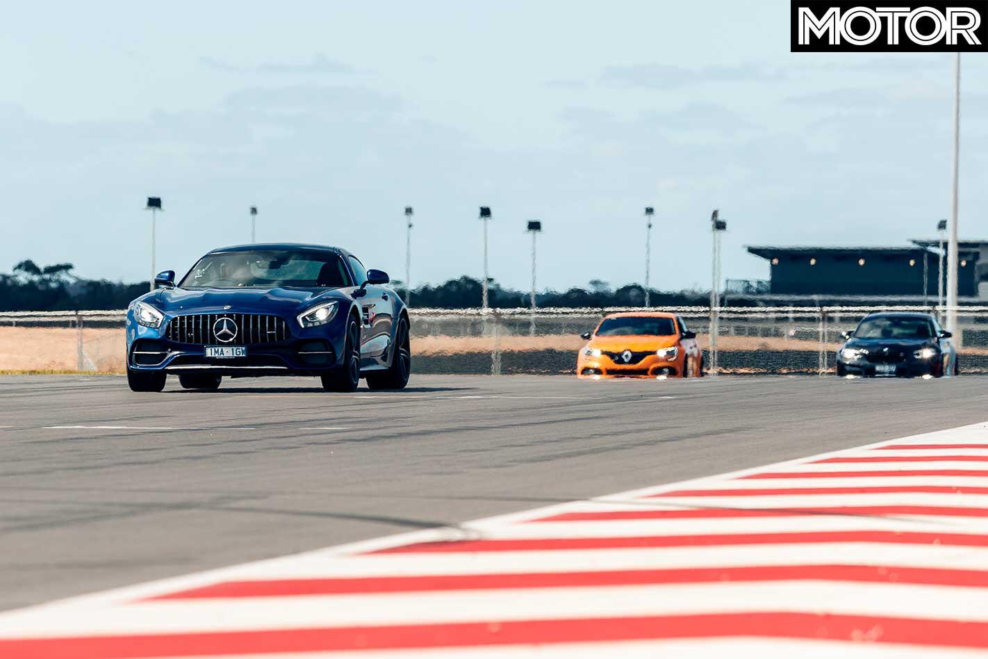 Performance Car Of The Year 2019 Track Test AMG GT C Drag Jpg