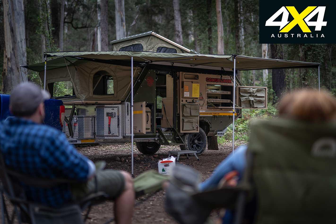 Conquerer UEV 490 Camper Trailer Setup Jpg