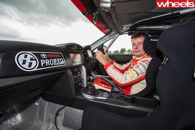 Toyota -86-Race -Car -driver -Neal -Bates