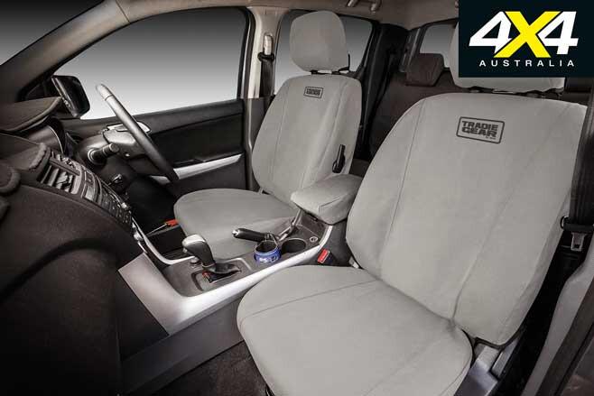 MSA 4 X 4 Tradie Gear Canvas Seat Covers Jpg