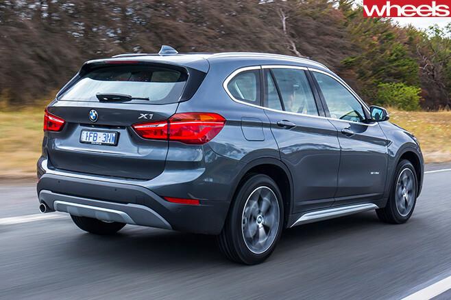 BMW-X1-s Drive -rear