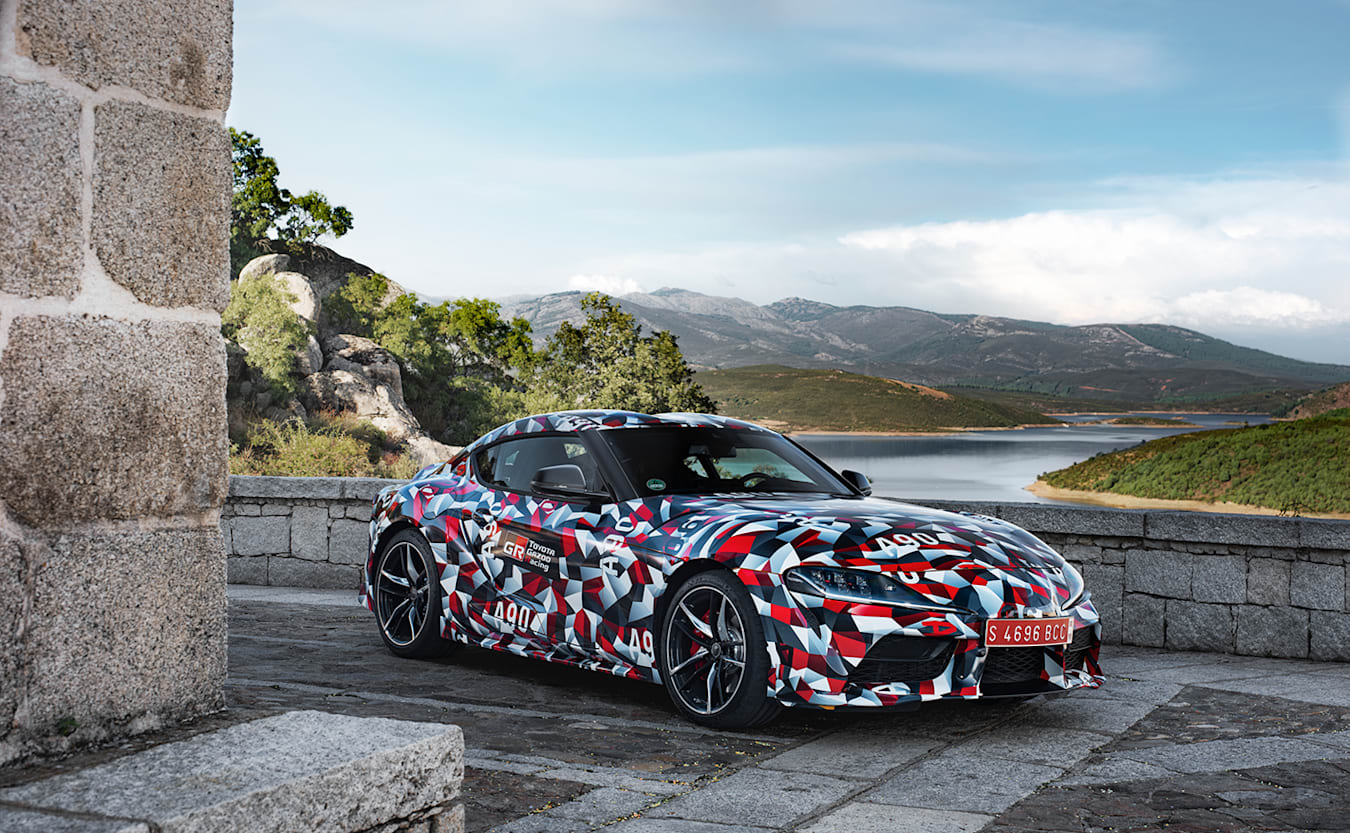 2019 Toyota GR Supra front static