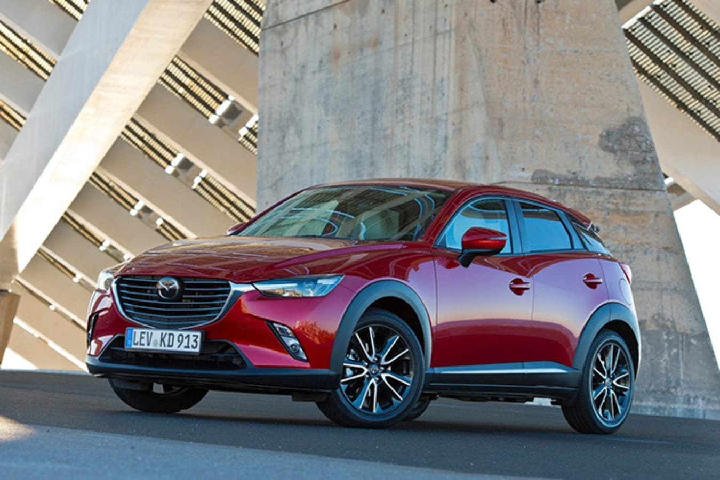 2017 Mazda CX-3 front side