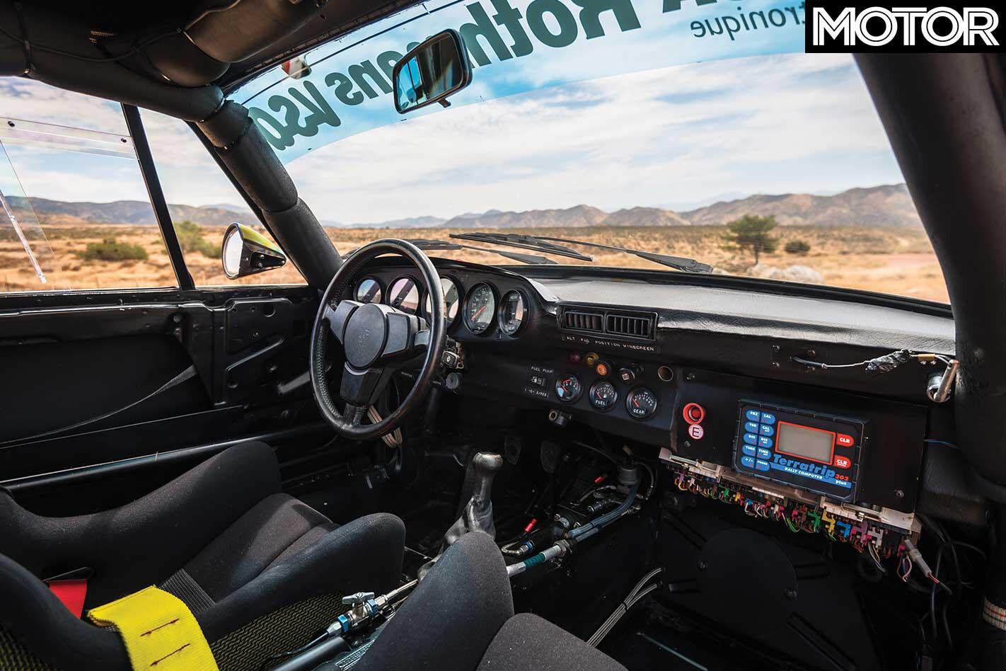 Porsche 959 Paris Dakar Interior Jpg
