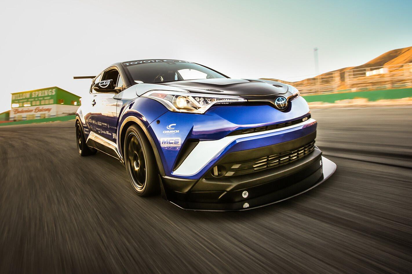 2017 SEMA show Toyota unhinges C-HR