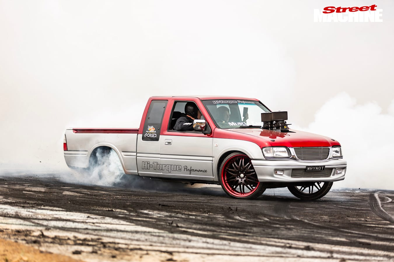 WHYNOT burnout ute