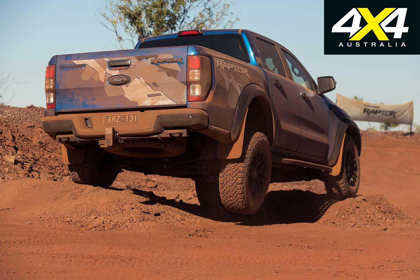 2018 Ford Ranger Raptor Rear Articulation Jpg