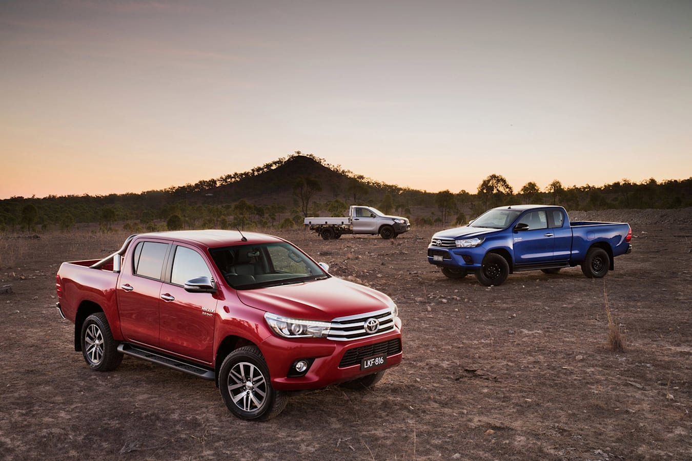 2017 Toyota Hilux range