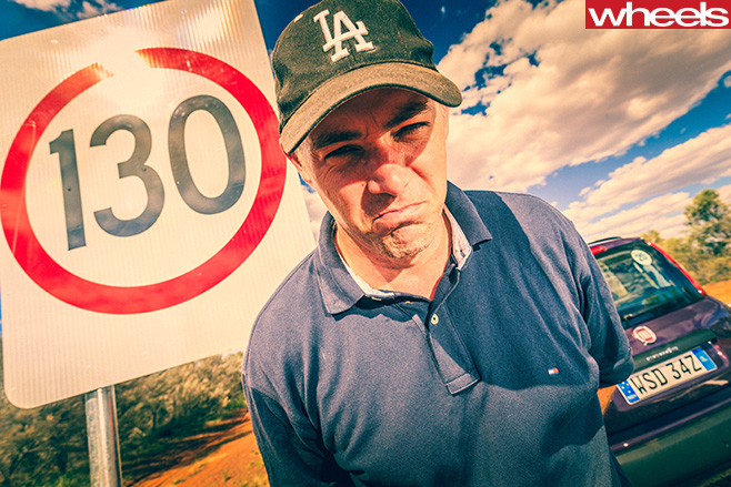 Stephen -Corby -130kmph -speed -limit -Northern -Territory