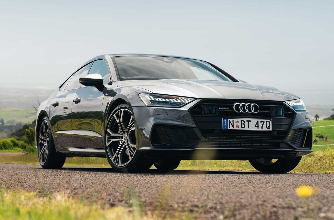 2019 Audi A7 Sportback Dynamic Steering quick review