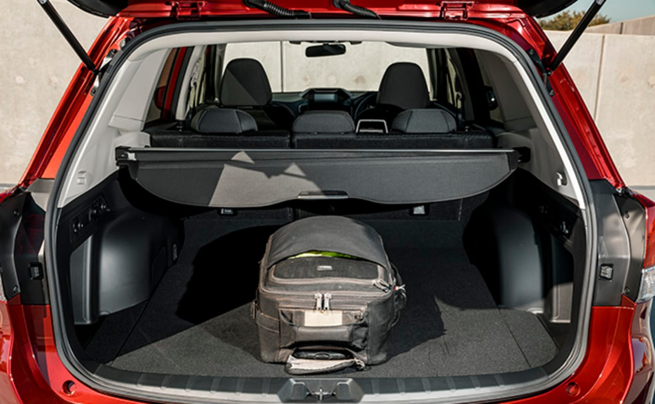 Subaru Forester Hybrid L boot