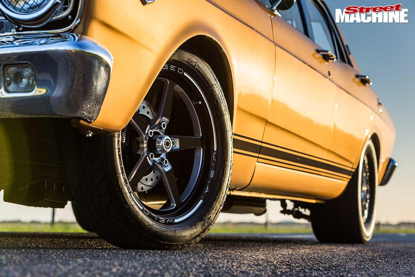 Ford XR Falcon wheels