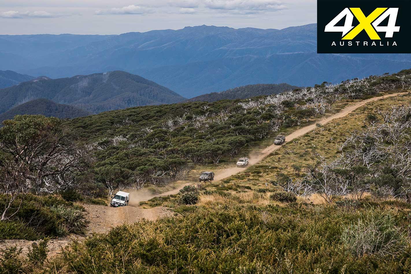 Victorian High Country 4 X 4 Adventure Series Mountain Ranges 4 X 4 Convoy Jpg