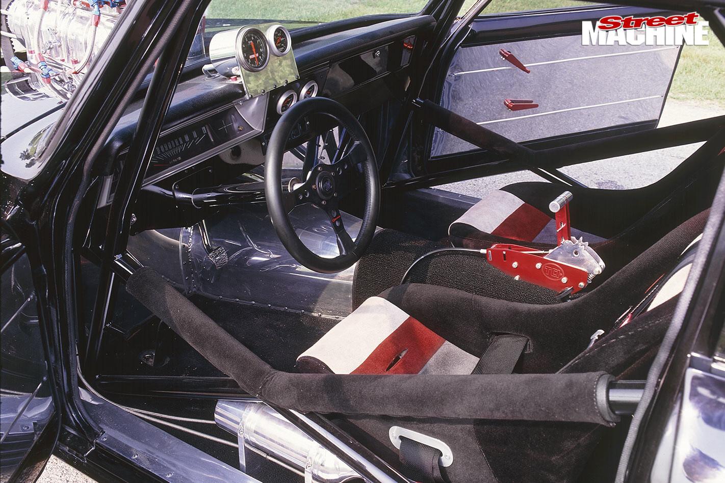 Chevy Tudor interior