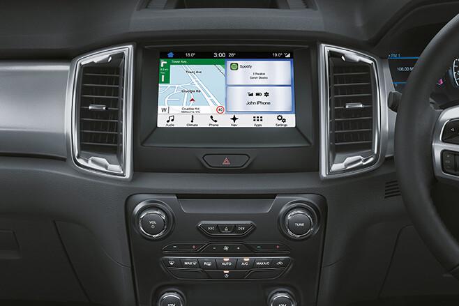 Ford Ranger touchscreen