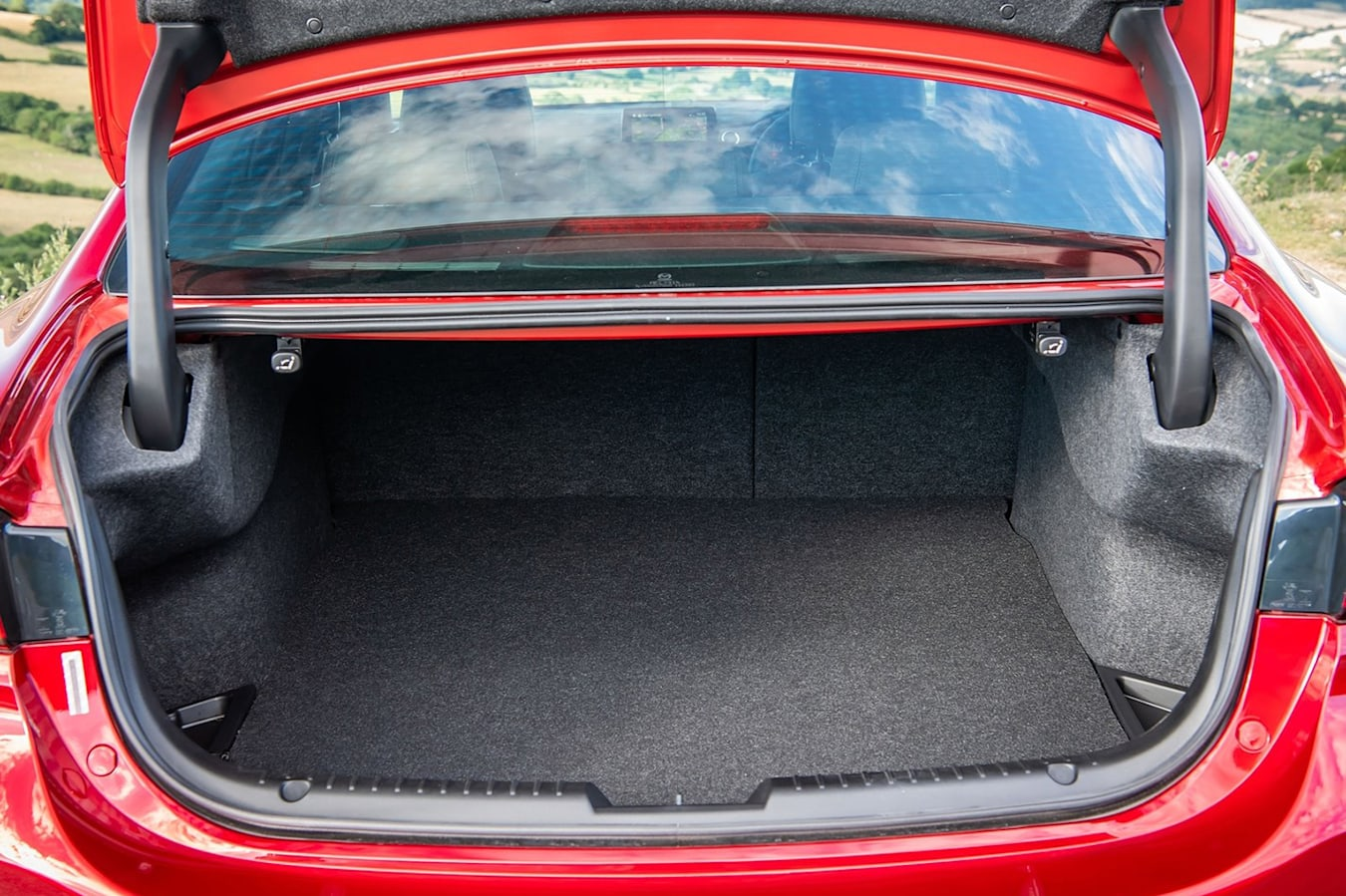 Mazda 6 boot